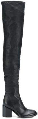 Ann Demeulemeester thigh high boots