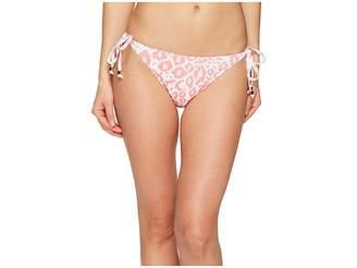 Letarte Ikat Leopard Bottom Women's Swimwear