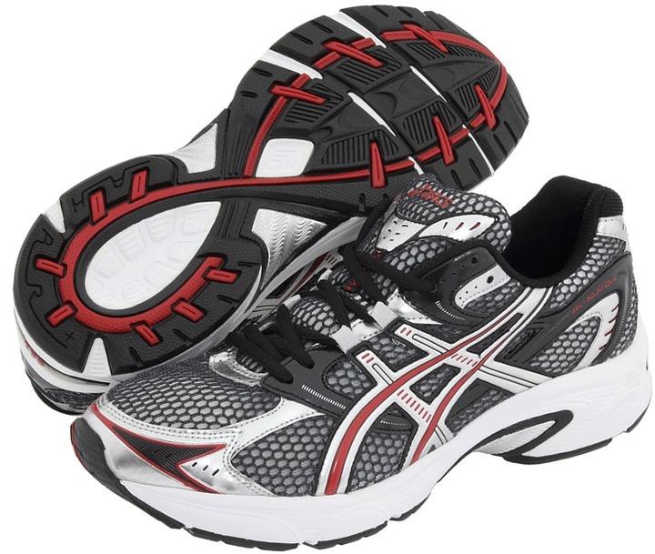 Asics Gel-Equation 4 (Black/Lightning/Racing Red) - Footwear