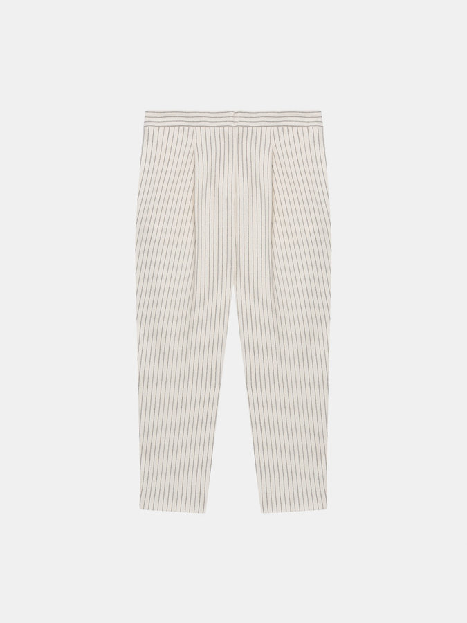 DKNYPinstripe Cropped Wool Pant