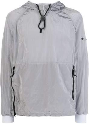 Stone Island lightweight drawstring hood jacket