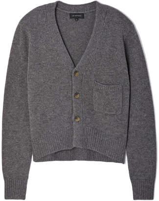 Lee Mathews Chunky Wool Cashmere Cardigan