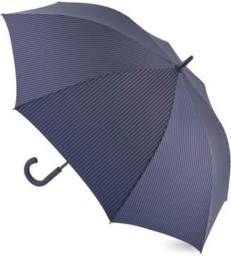 Fulton Stripe Walking Length Umbrella