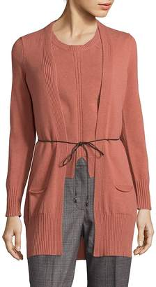 Peserico Women's Tie-Front Cardigan