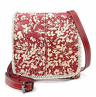 Patricia Nash Wildflower Collection Ruffle Granada Cross-Body Bag $129 thestylecure.com