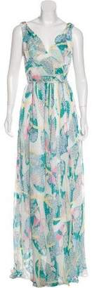 Band Of Outsiders Floral Print Maxi Dress w/ Tags