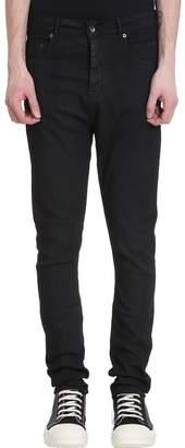 Drkshdw Black Denim Detroit Cut Jeans