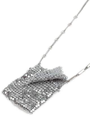 Topshop **Chainmail Bag Necklace