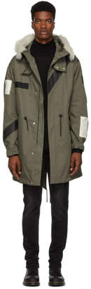 Belstaff Green Burfield Parka