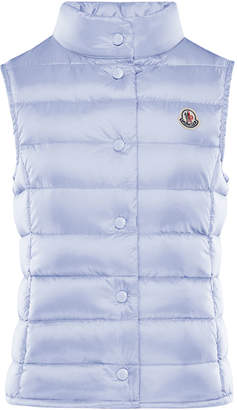 Moncler Quilted Snap-Front Vest, Size 4-6