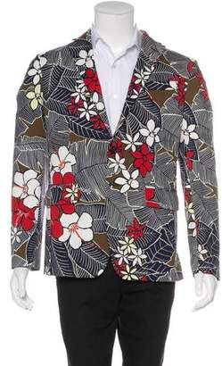 DSQUARED2 2016 Tropical Print Sport Coat