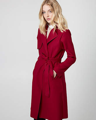Le Château Cashmere-Like Belted Trench Coat