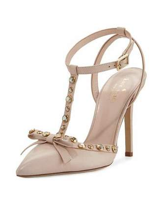 Kate Spade New York Lydia Studded Leather Pump, Petal Pink $398 thestylecure.com
