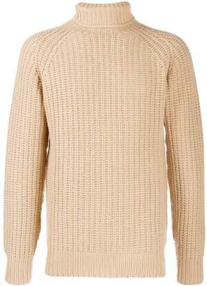 Officine Generale cable knit jumper