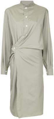 Lemaire side twist dress