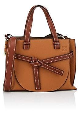 Loewe Women's Gate Small Leather Satchel - Tan