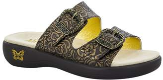 Alegria Women's Alegria, Jade Slide Sandals BROWN 3.8 M