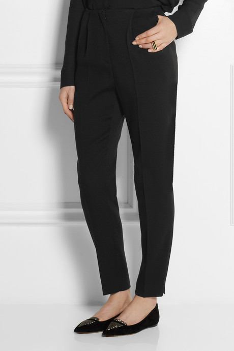 Burberry Crepe tapered pants
