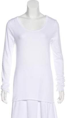 Velvet Knit Long Sleeve Top