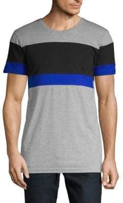 Colorblock Cotton Tee