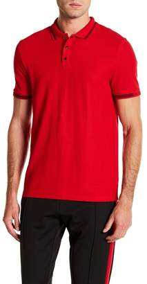 Calvin Klein Short Sleeve Solid Polo