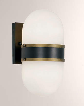 Crystorama Capsule Medium 2-Light Sconce