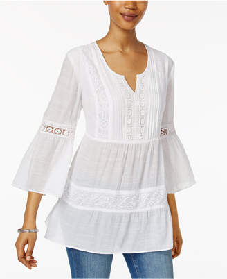 Style & Co Bell-Sleeve Peasant Top, Only at Macy's $49.50 thestylecure.com