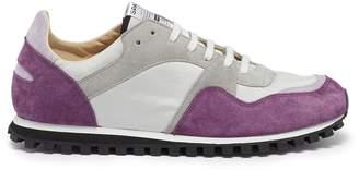 Spalwart 'Marathon Trail Low' suede panel contrast mesh sneakers