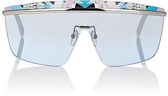 Pucci WOMEN'S EP0007 SUNGLASSES - TURQUOISE