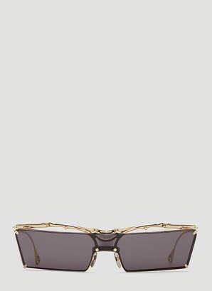 Innerraum OJ4 Rectangular Sunglasses in Grey