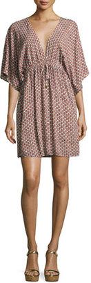 Tory Burch Gabriella Beach Coverup Dress, Multi $248 thestylecure.com
