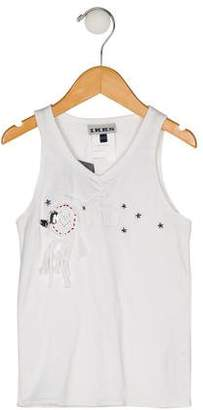 Ikks Girls' Embroidered Top w/ Tags