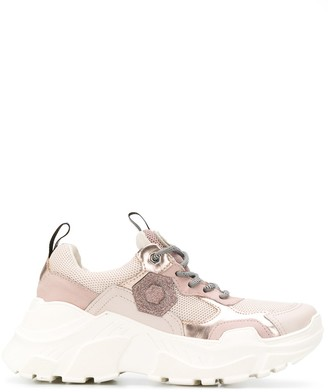Moa Master Of Arts mesh panel sneakers