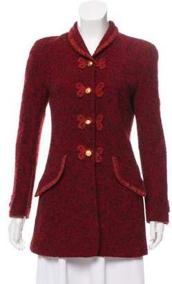 Rena Lange Bouclé Wool Coat
