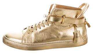 Buscemi 100MM Leather Sneakers