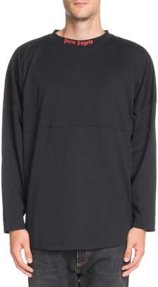 Palm Angels Logo-Graphic Long-Sleeve T-Shirt