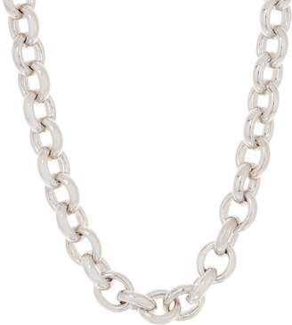"NUOVO Oro Bold Oval Rolo Link 18"" Necklace 14K"