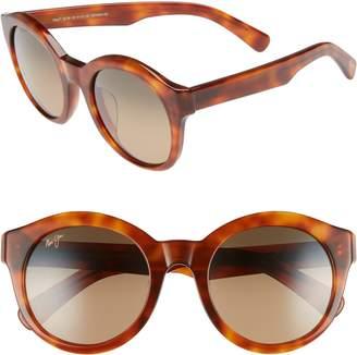 Maui Jim Jasmine 51mm PolarizedPlus2(R) Round Sunglasses