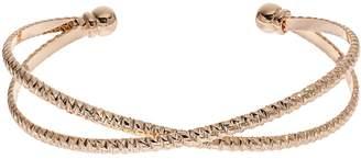 Lauren Conrad Textured Crisscross Cuff Bracelet