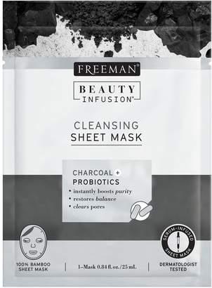 Freeman Cleansing Charcoal & Probiotics Sheet Mask