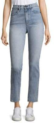 Rag & Bone High-Rise Cigarette Jeans