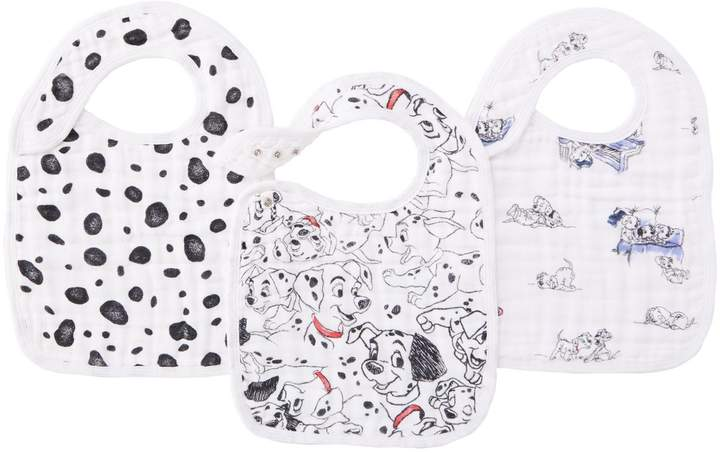 Aden & Anais 101 Dalmations Snap Bibs (Pack of 3)