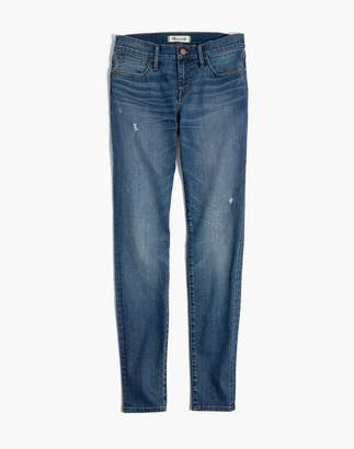 """Madewell 8"""" Skinny Jeans in Bellaire Wash"""