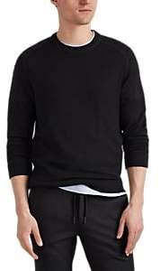 Massimo Alba Men's Cashmere Crewneck Raglan-Sleeve Shirt - Charcoal