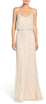 Women's Adrianna Papell Embellished Blouson Gown $279 thestylecure.com