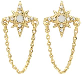 At Juicy Couture Charm Swag Stud Earrings