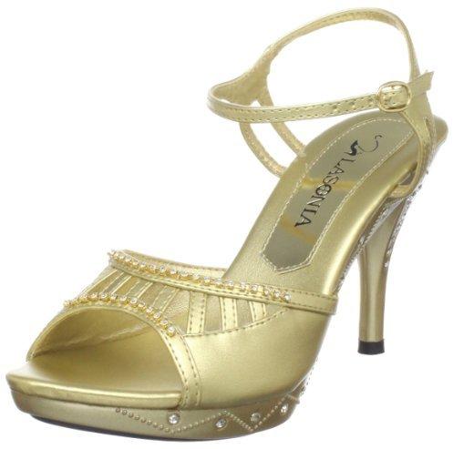 Lasonia Women's S7419 Platform Sandal
