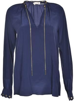Michael Kors Chain Embellished Blouse