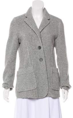 ATM Anthony Thomas Melillo Wool-Blend Knit Blazer