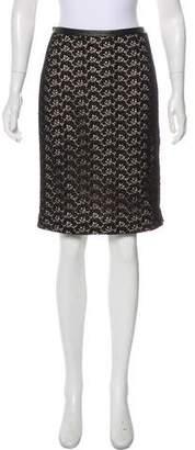Diane von Furstenberg Stevie Acorn Lace Skirt